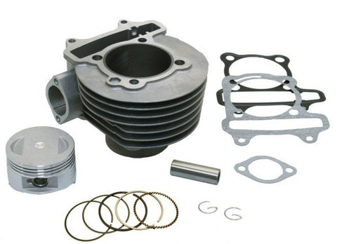 Cylinder - Universal Parts GY6 61mm Big Bore Cylinder Kit > Part#164GRS309