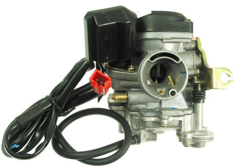 Carburetor - QMB139 50cc 4-stroke Carburetor, Type-1 for BINTELLI BEAST 50 > Part #151GRS29