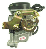 Carburetor - QMB139 50cc 4-stroke Carburetor, Type-1 for BINTELLI BOLT 50 > Part #151GRS29