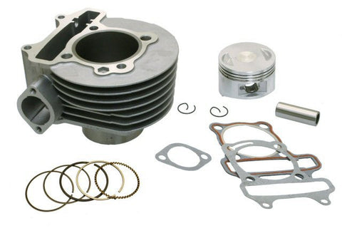 Cylinder Kit - Stock GY6 150cc 57.4mm > Part #164GRS308