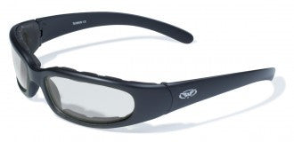 Riding Glasses - Chicago Style Riding Glasses with Clear Lenses > Part #GL-CHI-CLR