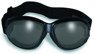 Riding Glasses - Eliminator 24 Style Riding Glasses with Clear to Smoke Transformative Lenses > Part #GL-ELIM-24
