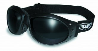 Riding Glasses - Eliminator Style Riding Glasses with Super Dark Lenses > Part #GL-ELIM-SD
