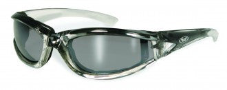Riding Glasses - FlashPoint CF FM Style Riding Glasses with Gray Frames > Part #GL-FP-CF-FM-GRAY