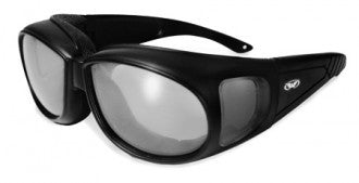 Riding Glasses - Outfitter 24 A/F Style Riding Glasses with Clear to Smoke Transformative Lenses > Part #GL-OUT-24-A/F