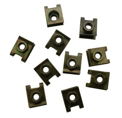 Body Clips M6 Scooter Body Clips - Set of 10 > Part # 175GRS11