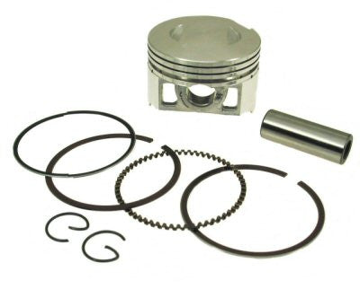 Piston Kit with Rings Hoca QMB139 50mm GY6 49cc > Part # 169GRS203