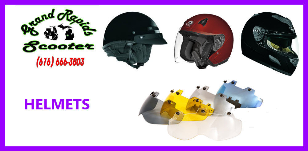Scooter Moped Motorcycle Helmets