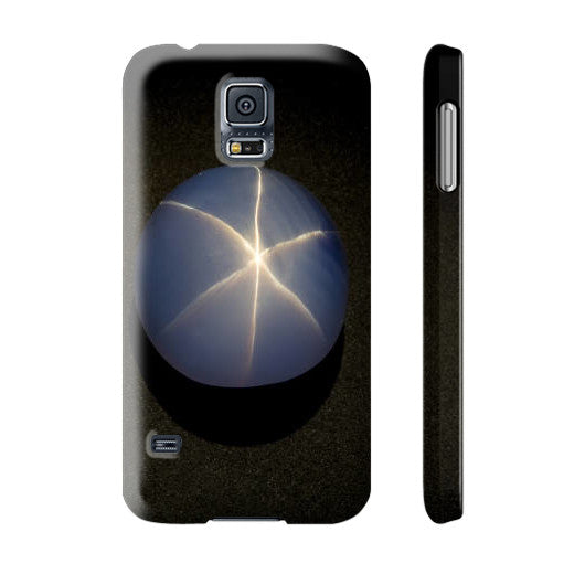 Star Sapphire Portrait Phone Case Slim Galaxy s5, Phone Case - PeakGems.com, PeakGems.com - 11