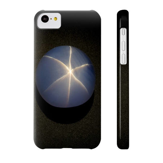 Star Sapphire Portrait Phone Case Slim iPhone 5C, Phone Case - PeakGems.com, PeakGems.com - 6