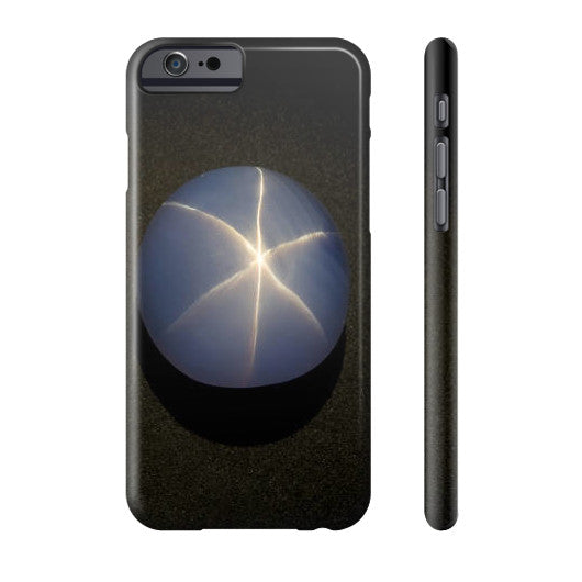 Star Sapphire Portrait Phone Case Slim iPhone 6S, Phone Case - PeakGems.com, PeakGems.com - 2