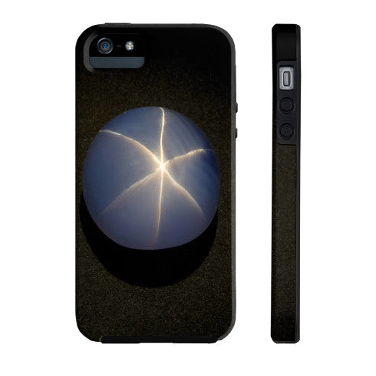 Star Sapphire Portrait Phone Case Tough iPhone 5/5s, Phone Case - PeakGems.com, PeakGems.com - 8
