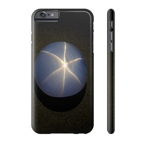 Star Sapphire Portrait Phone Case Slim iPhone 6S Plus, Phone Case - PeakGems.com, PeakGems.com - 1
