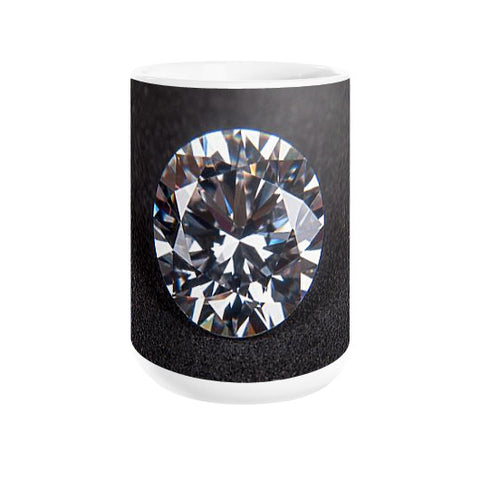 Diamond Portrait Coffee Mug , Mug - PeakGems.com, PeakGems.com - 1