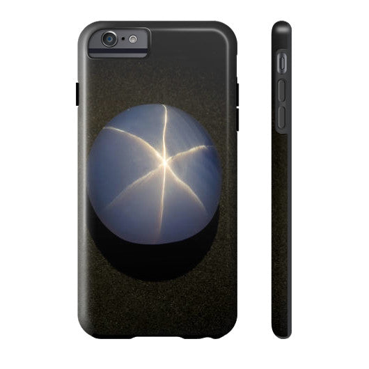 Star Sapphire Portrait Phone Case Tough iPhone 6S Plus, Phone Case - PeakGems.com, PeakGems.com - 4