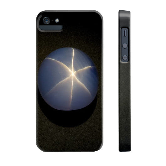 Star Sapphire Portrait Phone Case Slim iPhone 5/5s, Phone Case - PeakGems.com, PeakGems.com - 5