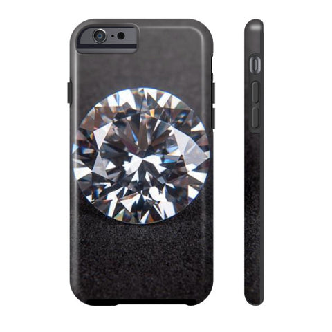 Diamond Portrait Phone Case Tough iPhone 6S, Phone Case - PeakGems.com, PeakGems.com - 3
