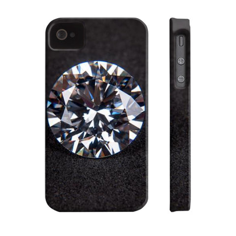 Diamond Portrait Phone Case Slim iPhone 4/4s, Phone Case - PeakGems.com, PeakGems.com - 9