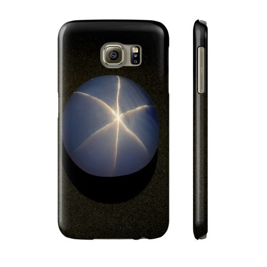 Star Sapphire Portrait Phone Case Slim Galaxy s6, Phone Case - PeakGems.com, PeakGems.com - 9