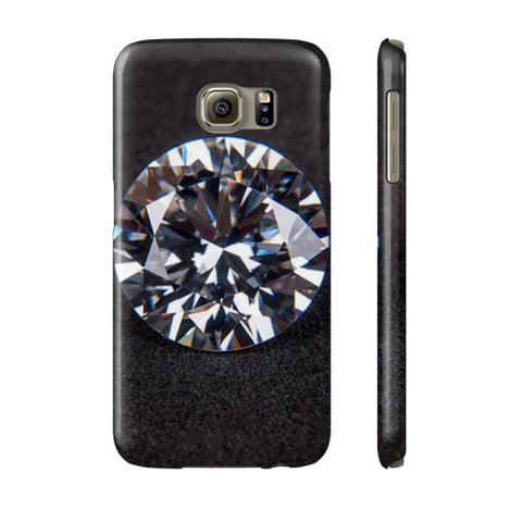 Diamond Portrait Phone Case Slim Galaxy s6, Phone Case - PeakGems.com, PeakGems.com - 10