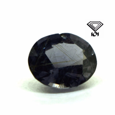 IGI Certified 2.47 cts Natural Ceylon Blue Spinel , Natural Gemstone - PeakGems.com, PeakGems.com - 1