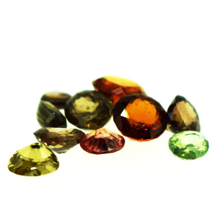 6 cts Natural Ceylon Zircon Lot , Natural Gemstone - PeakGems.com, PeakGems.com
