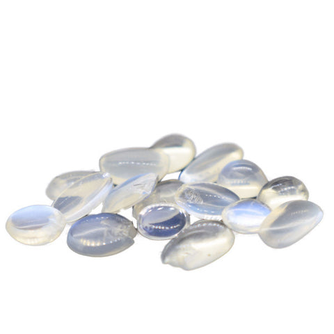 10 cts Natural Ceylon Small Moonstone Lot , Natural Gemstone - PeakGems.com, PeakGems.com