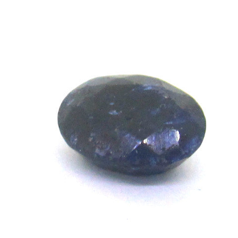 5.54 ct Natural Opaque Blue Sapphire , Natural Gemstone - PeakGems.com, PeakGems.com - 1