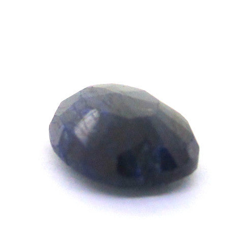 8.17 ct Natural Opaque Blue Sapphire , Natural Gemstone - PeakGems.com, PeakGems.com - 4