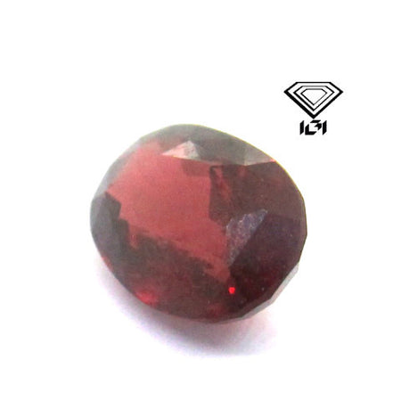 IGI Certified 2.91 ct Natural Red Garnet from Sri-lanka , Natural Gemstone - PeakGems.com, PeakGems.com - 1