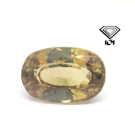 IGI Certified Natural 2.89 ct Ceylon Zircon , Natural Gemstone - PeakGems.com, PeakGems.com - 1