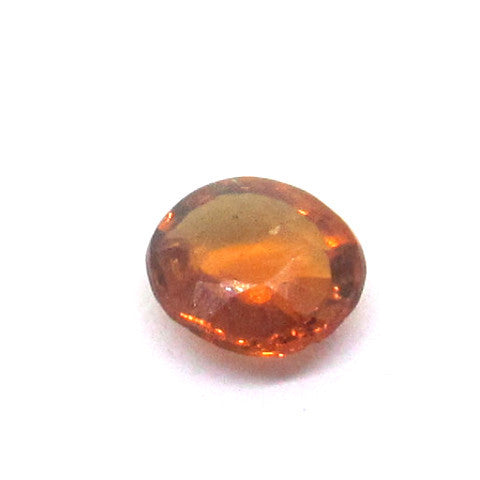 0.59 ct Natural Brownish Orange Garnet , Natural Gemstone - PeakGems.com, PeakGems.com - 1