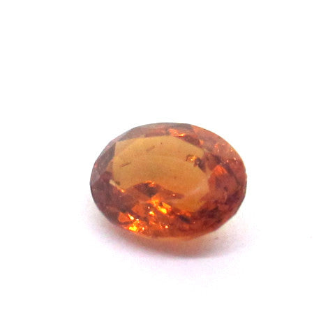 0.67 ct Natural Brownish Orange Garnet , Natural Gemstone - PeakGems.com, PeakGems.com - 1