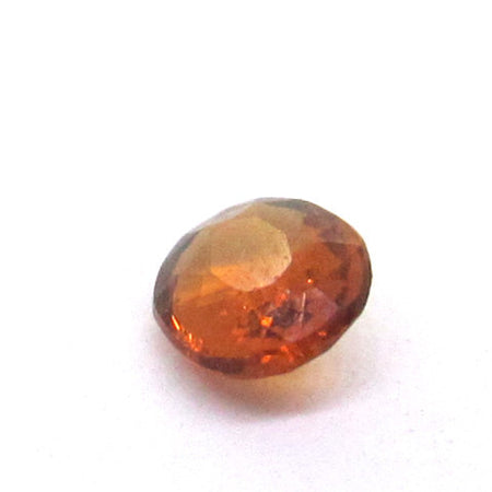 0.38 ct Natural Brownish Orange Garnet , Natural Gemstone - PeakGems.com, PeakGems.com - 1