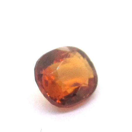 0.51 ct Natural Brownish Orange Garnet , Natural Gemstone - PeakGems.com, PeakGems.com - 2