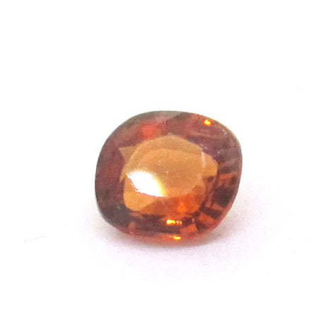 0.51 ct Natural Brownish Orange Garnet , Natural Gemstone - PeakGems.com, PeakGems.com - 1