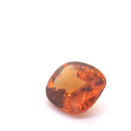 0.48 ct Natural Brownish Orange Garnet , Natural Gemstone - PeakGems.com, PeakGems.com - 1