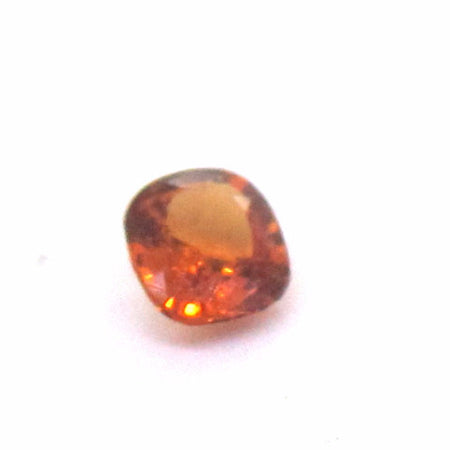 0.48 ct Natural Brownish Orange Garnet , Natural Gemstone - PeakGems.com, PeakGems.com - 2