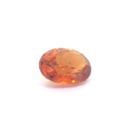 0.46 ct Natural Brownish Orange Garnet , Natural Gemstone - PeakGems.com, PeakGems.com - 1