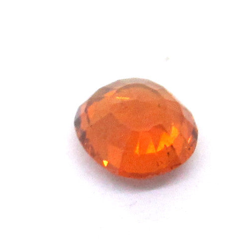 0.90 ct Natural Brownish Orange Garnet , Natural Gemstone - PeakGems.com, PeakGems.com - 3