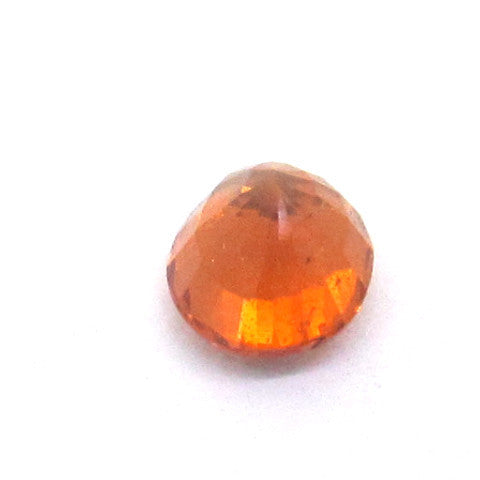 0.68 ct Natural Brownish Orange Garnet , Natural Gemstone - PeakGems.com, PeakGems.com - 3