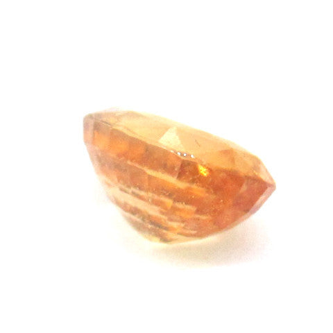 4.25 ct Natural Yellowish Orange Garnet , Natural Gemstone - PeakGems.com, PeakGems.com - 3