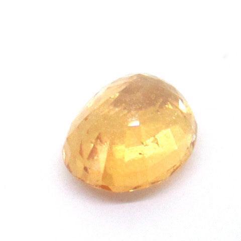 4.25 ct Natural Yellowish Orange Garnet , Natural Gemstone - PeakGems.com, PeakGems.com - 4