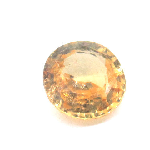 3.33 ct Natural Yellowish Orange Garnet , Natural Gemstone - PeakGems.com, PeakGems.com - 1