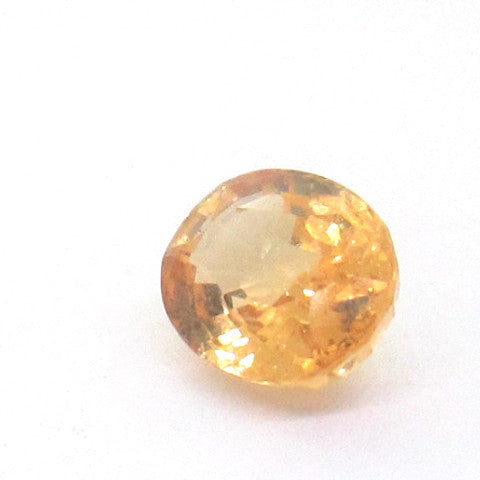 3.16 ct Natural Yellowish Orange Garnet , Natural Gemstone - PeakGems.com, PeakGems.com - 1