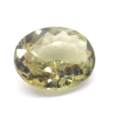 2.2 ct Natural Yellowish Green Zircon , Natural Gemstone - PeakGems.com, PeakGems.com - 1