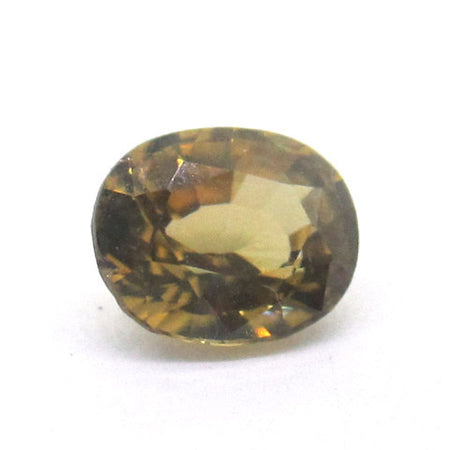 2.69 ct Natural Yellowish Green Zircon , Natural Gemstone - PeakGems.com, PeakGems.com - 1