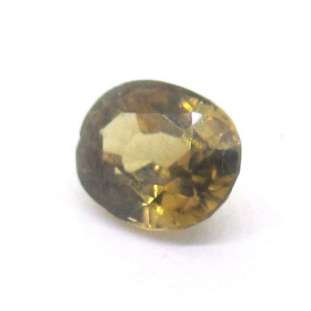 2.69 ct Natural Yellowish Green Zircon , Natural Gemstone - PeakGems.com, PeakGems.com - 2
