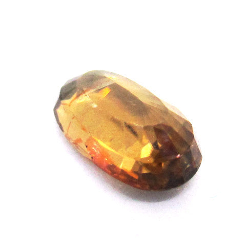 3.31 ct Natural Brownish Zircon , Natural Gemstone - PeakGems.com, PeakGems.com - 4