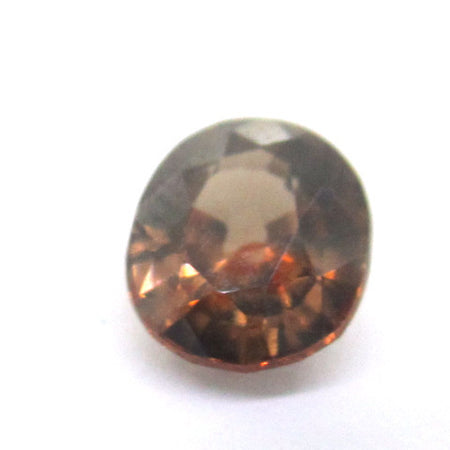 2.79 ct Natural Brownish Zircon , Natural Gemstone - PeakGems.com, PeakGems.com - 2
